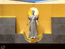 """Our Lady of the Angels"" at the Cathedral of Our Lady of the Angels"